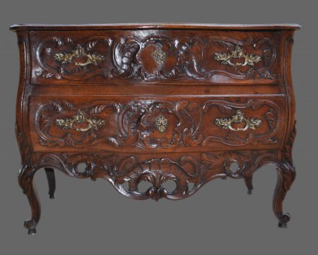 Commode provencale dite de nimes louis xv 2 tiroirs for Meubles provencaux